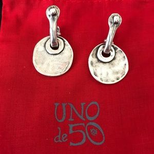 UNO de 50 Jewelry - Uno de 50 Sterling earrings